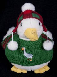 Aflac Talking Christmas Duck Plush